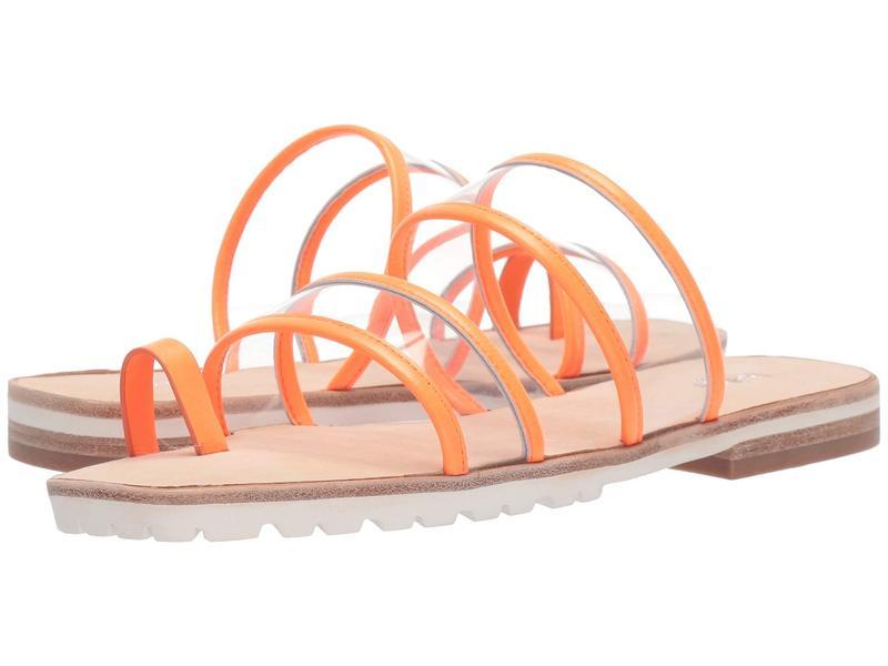 ボトキエ レディース サンダル シューズ Maje Neon Orange