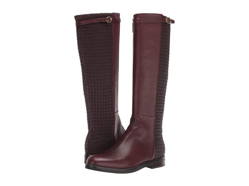 コールハーン レディース ブーツ・レインブーツ シューズ Abi Stretch Strap Boot Cordovan Leather