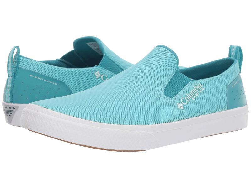 コロンビア レディース スニーカー シューズ Dorado¢ Slip PFG Clear Blue/White