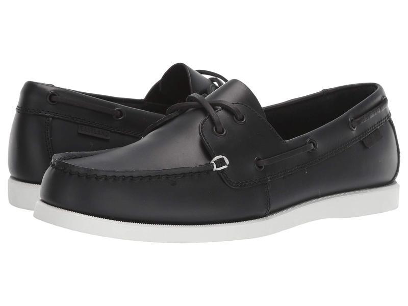 イーストランド メンズ デッキシューズ シューズ Eastland x Goodlife Boat Shoe Black