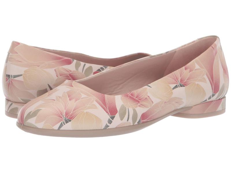 エコー レディース サンダル シューズ Anine Ballerina Rose Dust Cow Leather