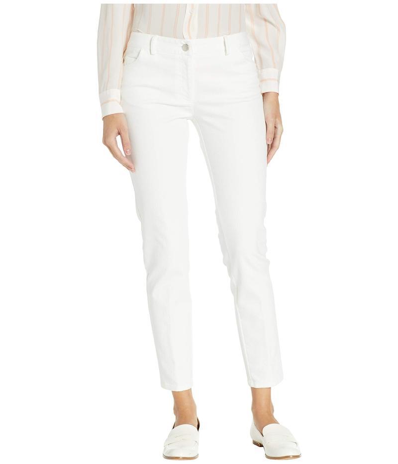 エリオットローレン レディース デニムパンツ ボトムス Washed Stretch Denim Jeans White