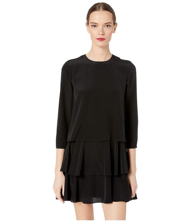 ジェイソンウー レディース ワンピース トップス Long Sleeve Dress Black