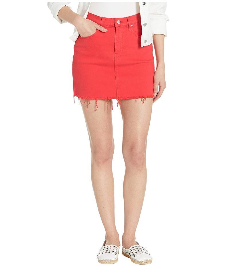 ハドソンジーンズ レディース スカート ボトムス Viper Mini Skirt in Cherry Cherry