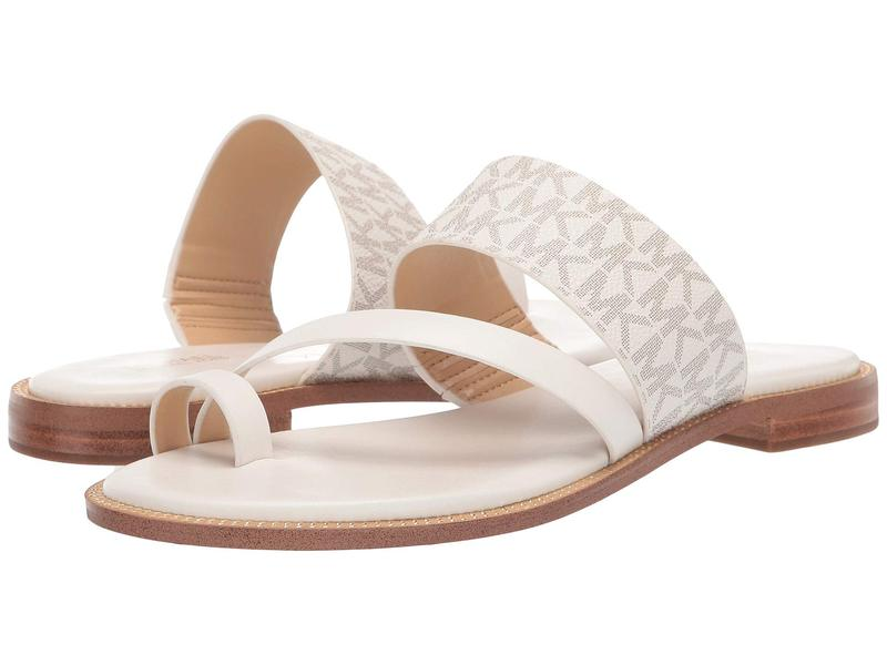 マイケルコース レディース サンダル シューズ Pratt Flat Sandal Van/Cream