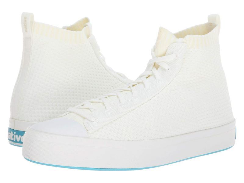ネイティブ シューズ メンズ スニーカー シューズ Jefferson 2.0 High Shell White/Shell White