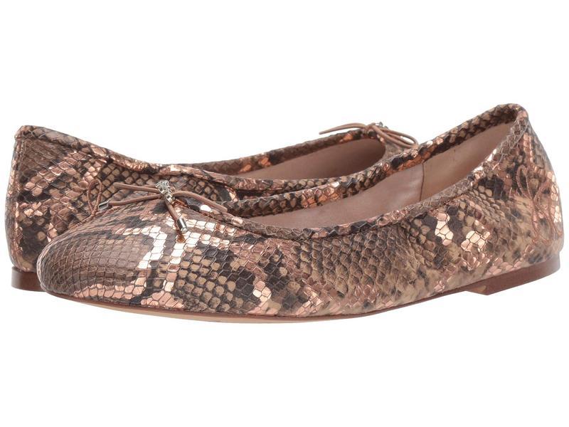 サムエデルマン レディース サンダル シューズ Felicia Praline Multi Bahama Metallic Snake Print