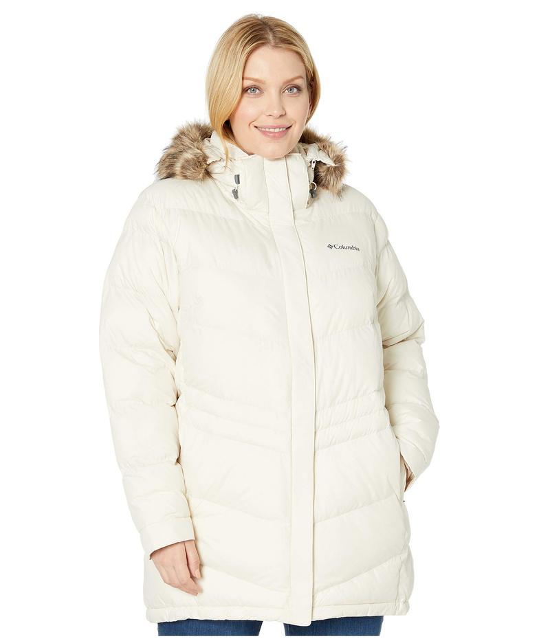 コロンビア レディース コート アウター Plus Size Peak to Park¢ Mid Insulated Jacket Chalk