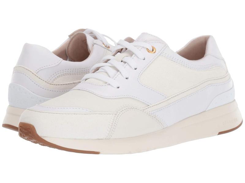 コールハーン レディース スニーカー シューズ Grandpro Downtown Runner White/Ivory