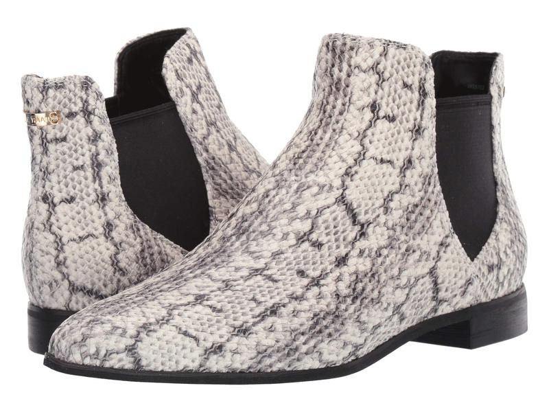 日本に コールハーン レディース ブーツ・レインブーツ シューズ Hara Bootie Natural Python Print Leather/Black Wool Gore/Black, JESMO c30a34fd