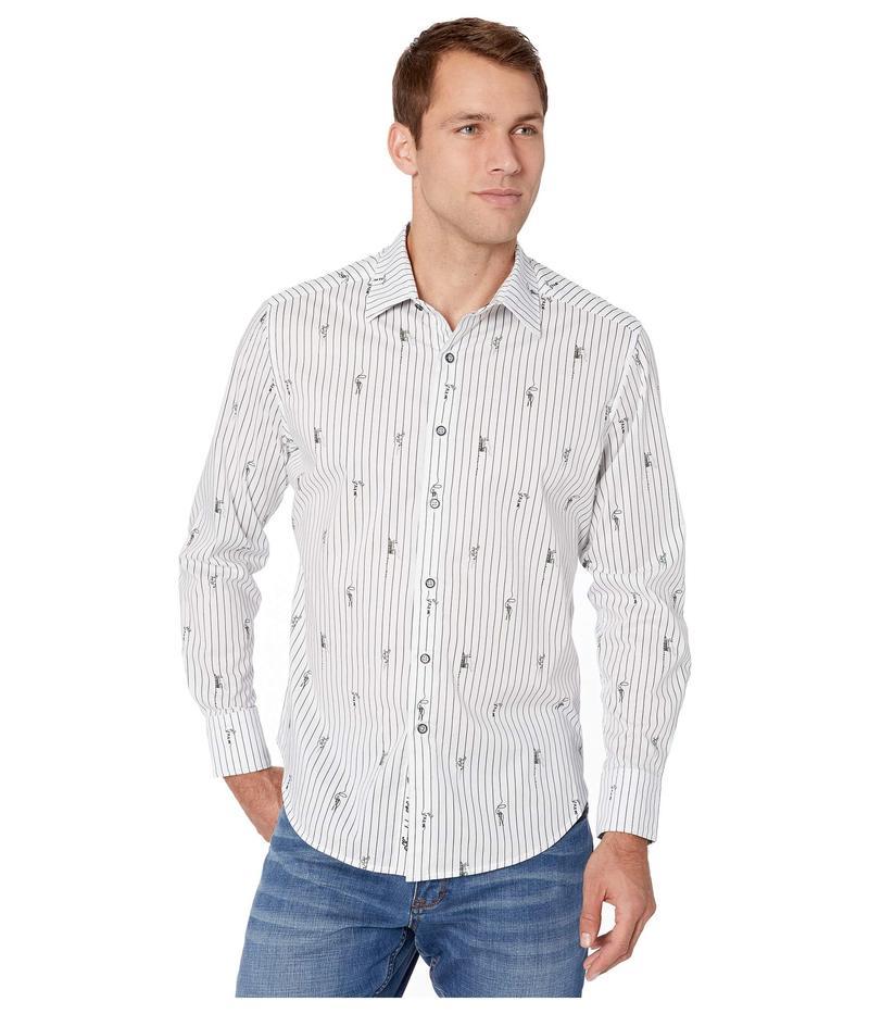 ロバートグラハム メンズ シャツ トップス Runaway Train Shirt White