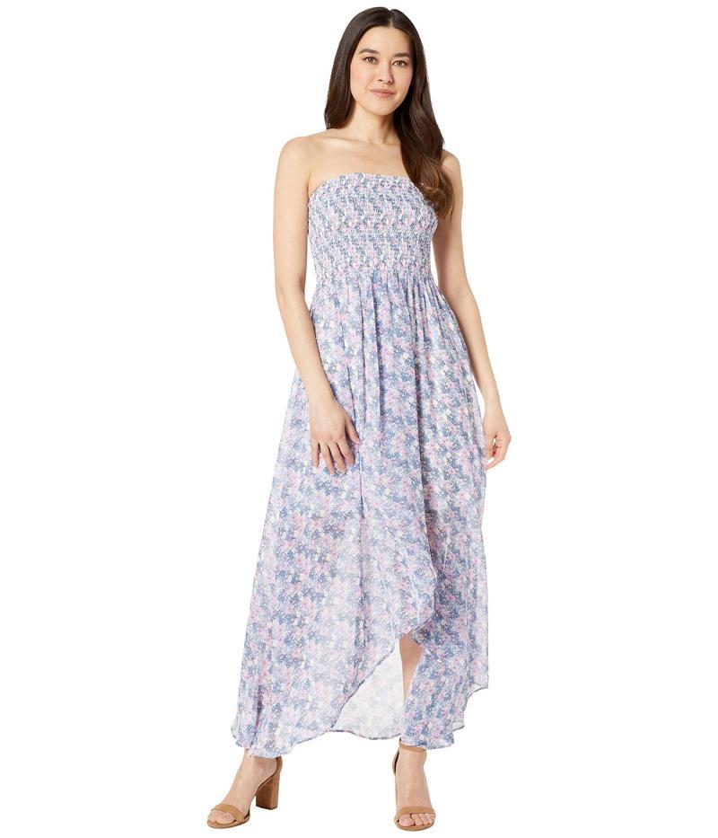 ヴィンスカムート レディース ワンピース トップス Smocked Bodice Charming Floral Dress Pearl Ivory