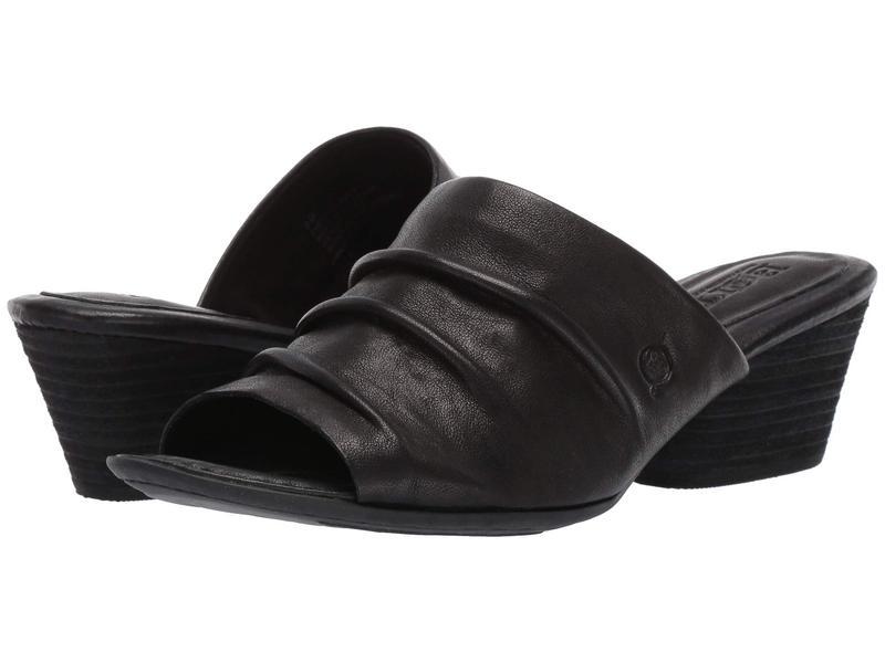 ボーン レディース ヒール シューズ Lemhi Black Full Grain Leather