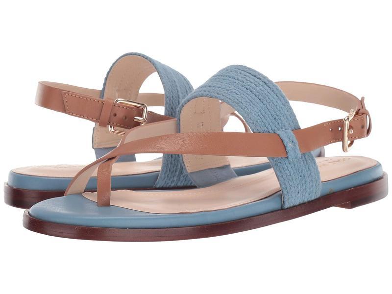 コールハーン レディース サンダル シューズ Anica Thong Sandal Sapphire Blue