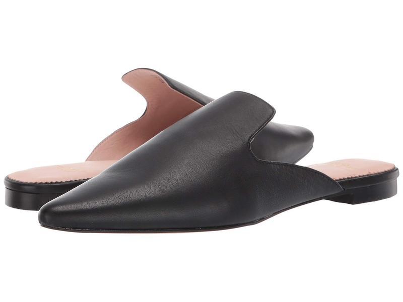 ジェイクルー レディース サンダル シューズ Soft Basic Leather Marina Slide Black