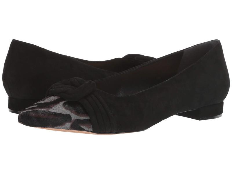 アレクサンドラバードマン レディース サンダル シューズ Vicky Ballet Pony Cement/Black