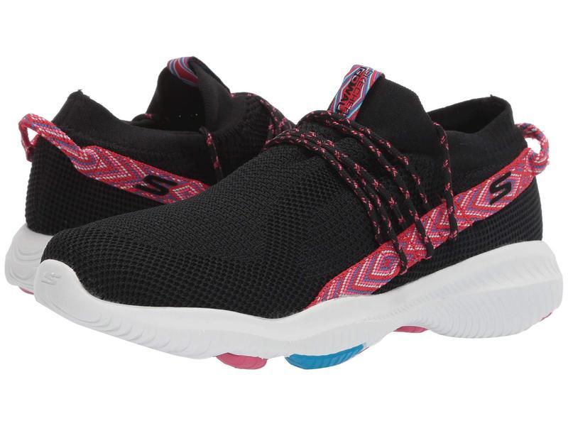 スケッチャーズ レディース スニーカー シューズ Go Walk Revolution Ultra - 15672 Black/Hot Pink
