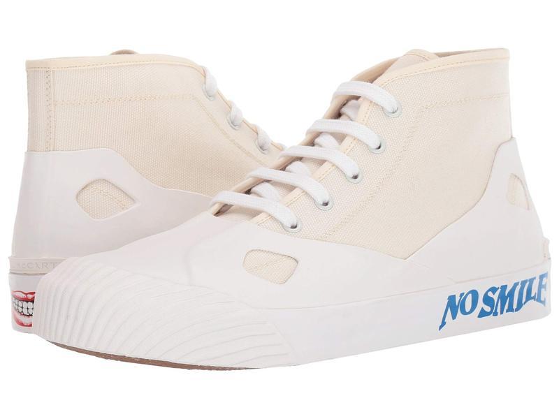 ステラマッカートニー メンズ スニーカー シューズ Smile Sneaker White