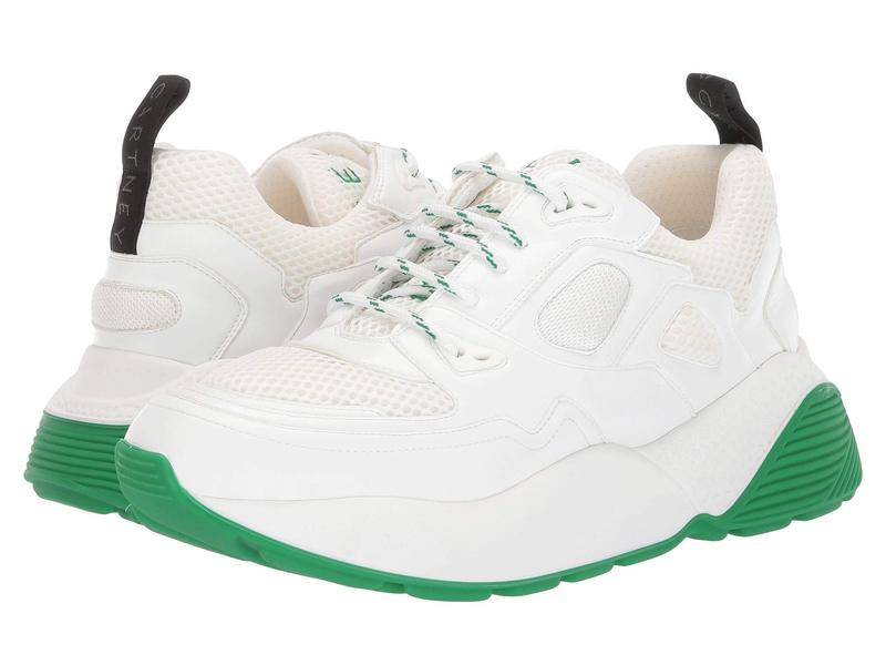 ステラマッカートニー メンズ スニーカー シューズ Contrast Heel Sport Sneaker White/White/Gray