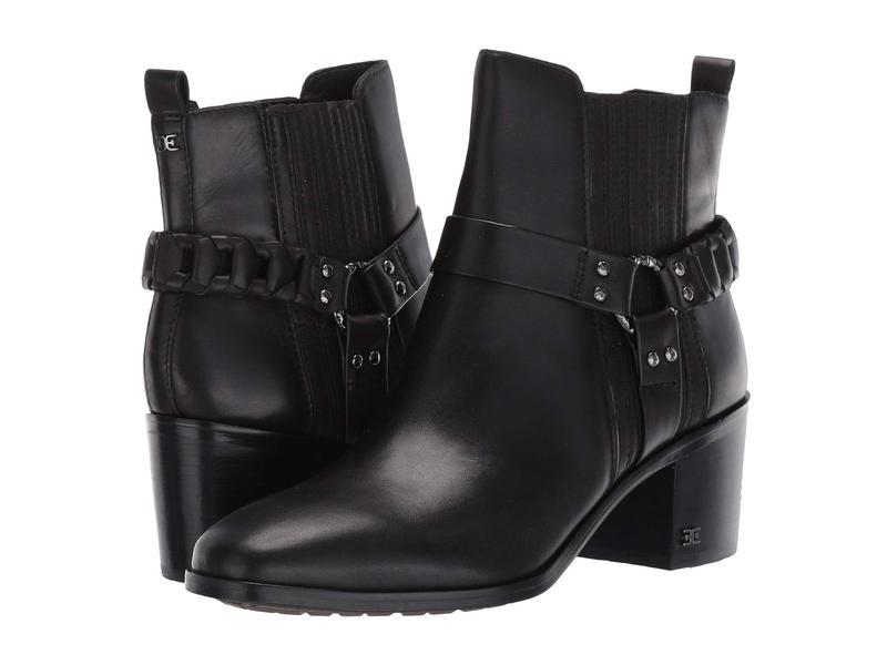 サムエデルマン レディース ブーツ・レインブーツ シューズ Dalma Black Vaquero Saddle Leather