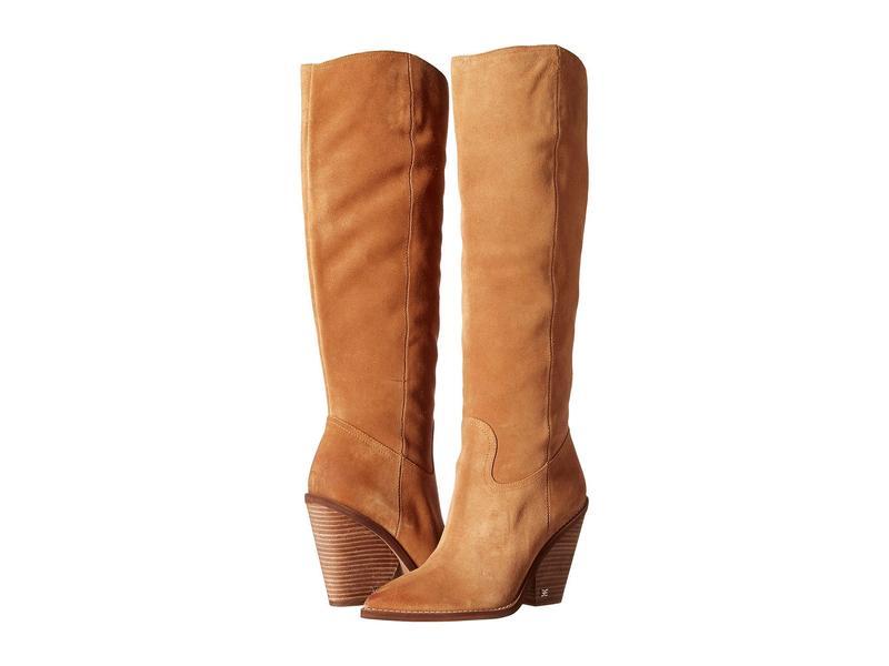 サムエデルマン レディース ブーツ・レインブーツ シューズ Indigo Golden Caramel Velutto Suede Leather