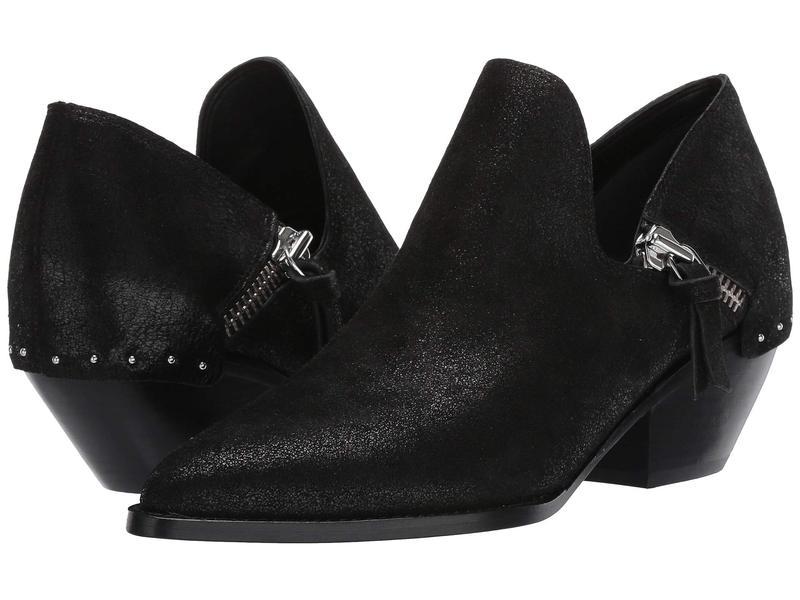 シガーソン モリソン レディース ブーツ・レインブーツ シューズ Haile 2 Black Metallic Leather