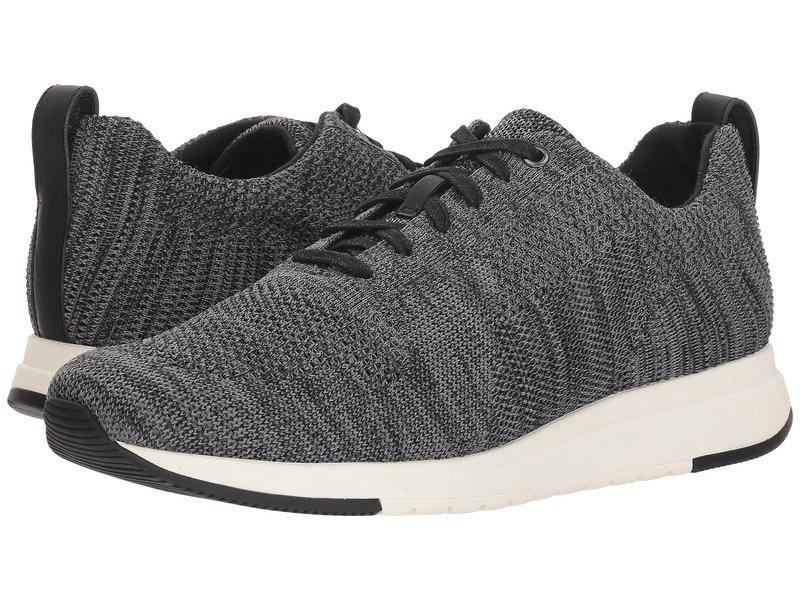 ヴィンス メンズ スニーカー シューズ Palo Marl Grey/Black Knit Fabric