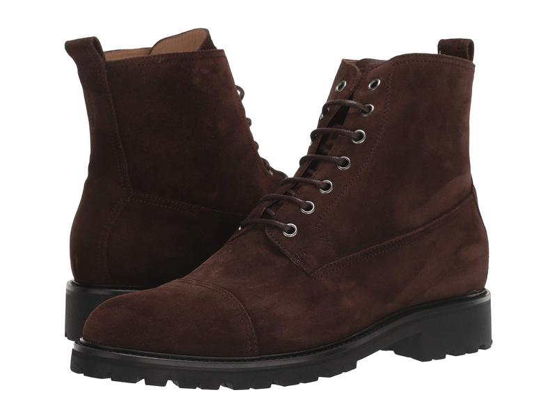 ベルスタッフ メンズ ブーツ・レインブーツ シューズ New Alperton Boot Dark Brown Suede