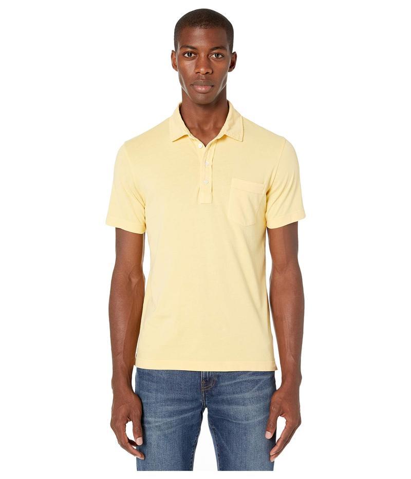 ビリーレイド メンズ シャツ トップス Pensacola Polo Yellow