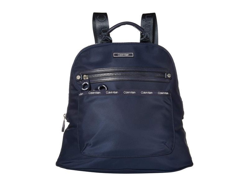 カルバンクライン レディース バックパック・リュックサック バッグ Georgina Nylon Backpack Navy/Navy