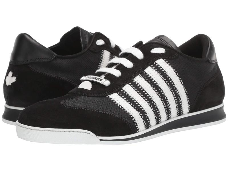 ディースクエアード メンズ スニーカー シューズ New Runner Sneaker Black/White