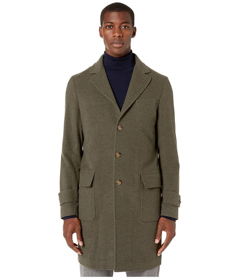 イレブンティ メンズ コート アウター Double Face Wool Overcoat Sage