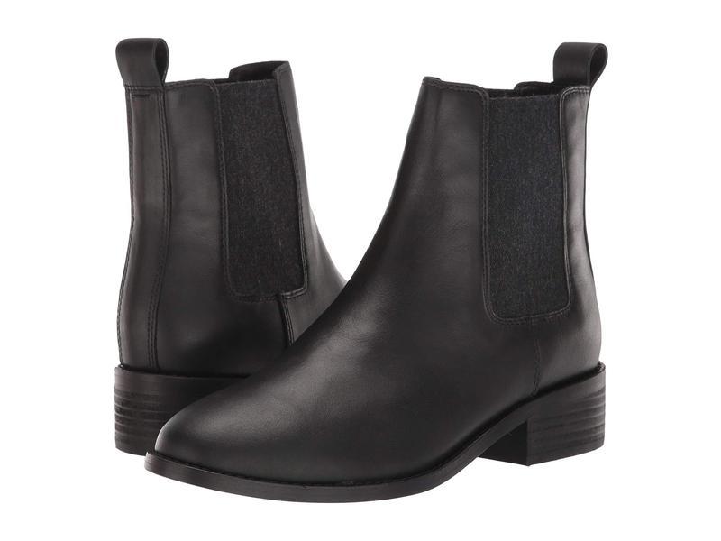 エイリーンフィッシャー レディース ブーツ・レインブーツ シューズ Vent Black Leather