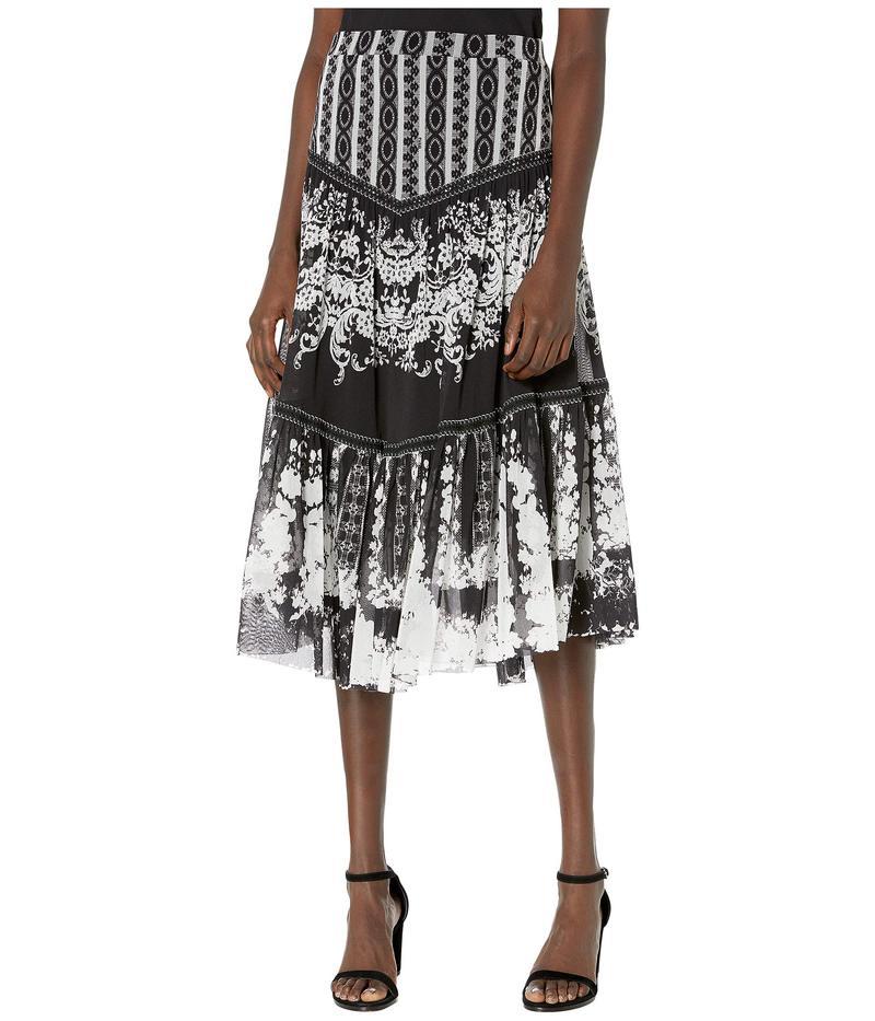 フィッジ レディース スカート ボトムス Andalucia Skirt with Trim Nero