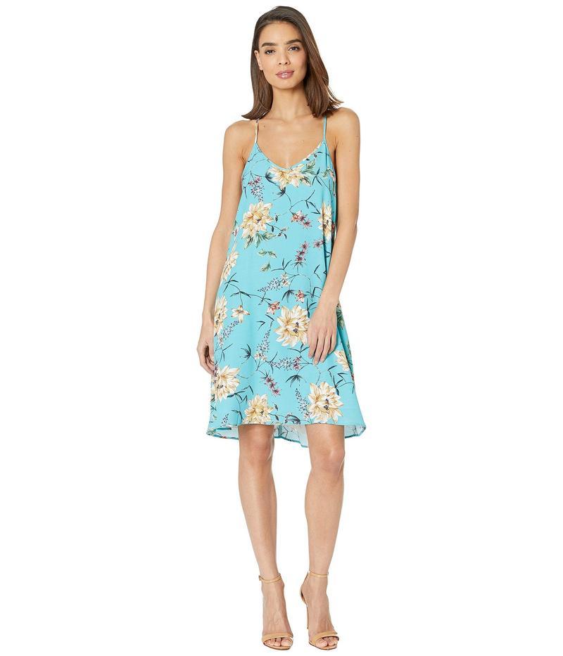 カレンケーン レディース ワンピース トップス Racerback Dress Floral Print
