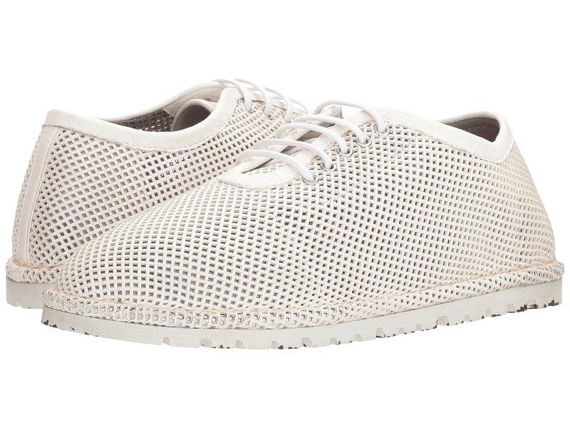 マルセル レディース オックスフォード シューズ Gomme Mesh Sneaker White