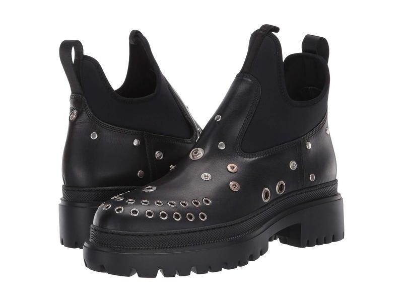 アレキサンダー・マックイーン レディース ブーツ・レインブーツ シューズ Tryb Boot Smooth Black