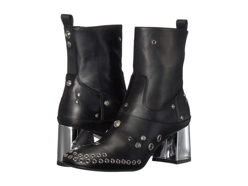 アレキサンダー・マックイーン レディース ブーツ・レインブーツ シューズ Rhuture Boot Black