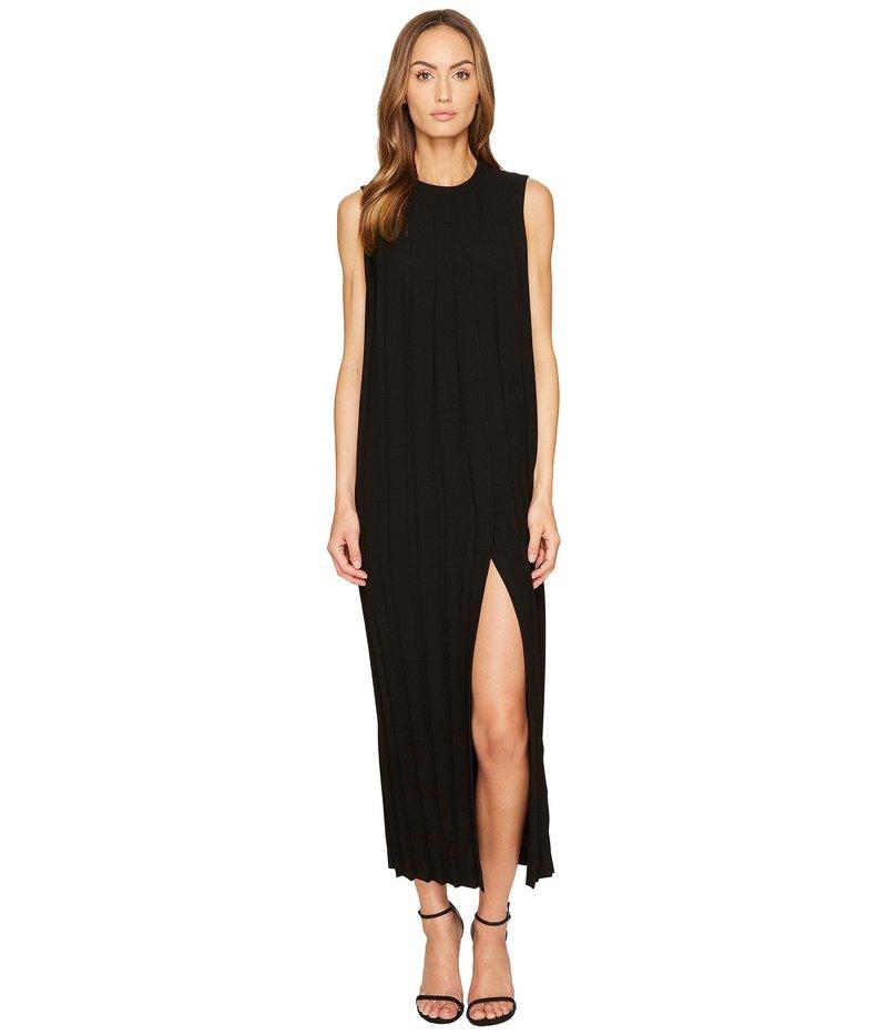 ニールバレット レディース ワンピース トップス Sleeveless Pleated Long Dress Black