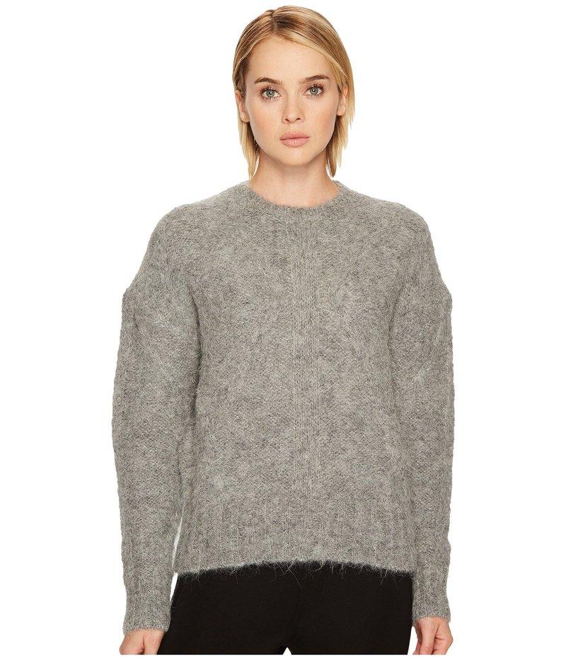 ニールバレット レディース ニット・セーター アウター Hairy Cables 1,5 GG Sweater Grey