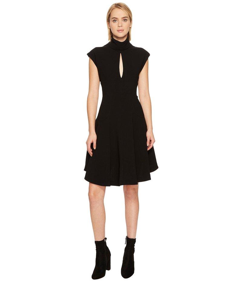 ニールバレット レディース ワンピース トップス Light Crepe Str. Cap Sleeve Dress Black