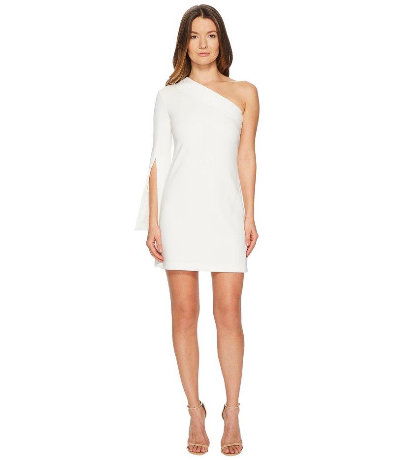 ニールバレット レディース ワンピース トップス One Shoulder Stretch Crepe Dress Off-White