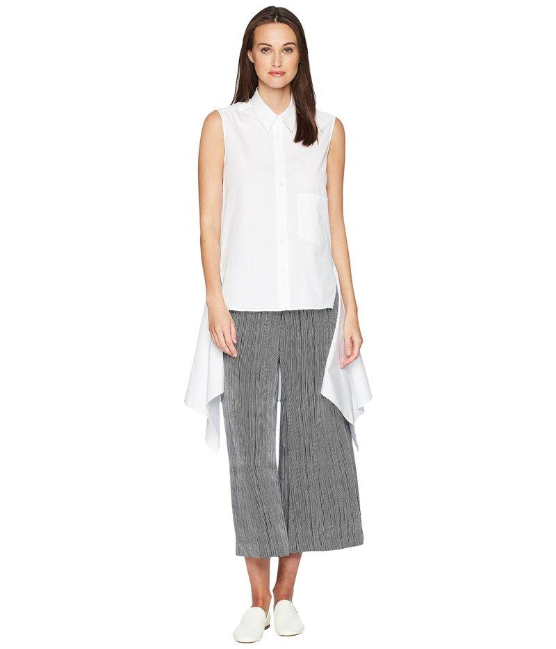 ニールバレット レディース シャツ トップス Sleeveless Fall-Away Shirt White