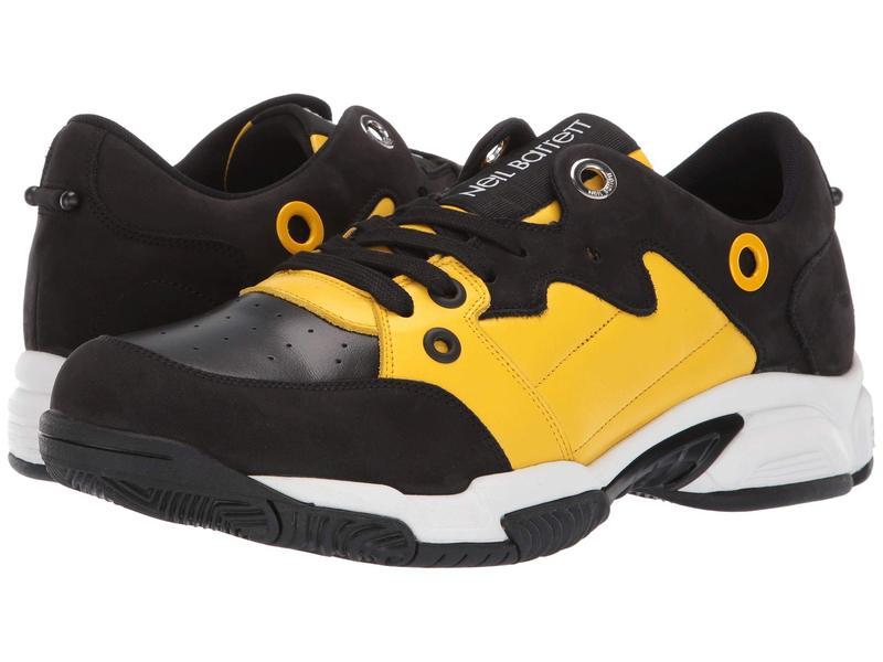 ニールバレット メンズ スニーカー シューズ Brutalist Sneaker Black/Yellow/White