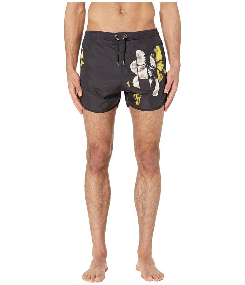 ニールバレット メンズ ハーフパンツ・ショーツ 水着 Sliced Anemone Swimsuit Black/Sepia/Yellow