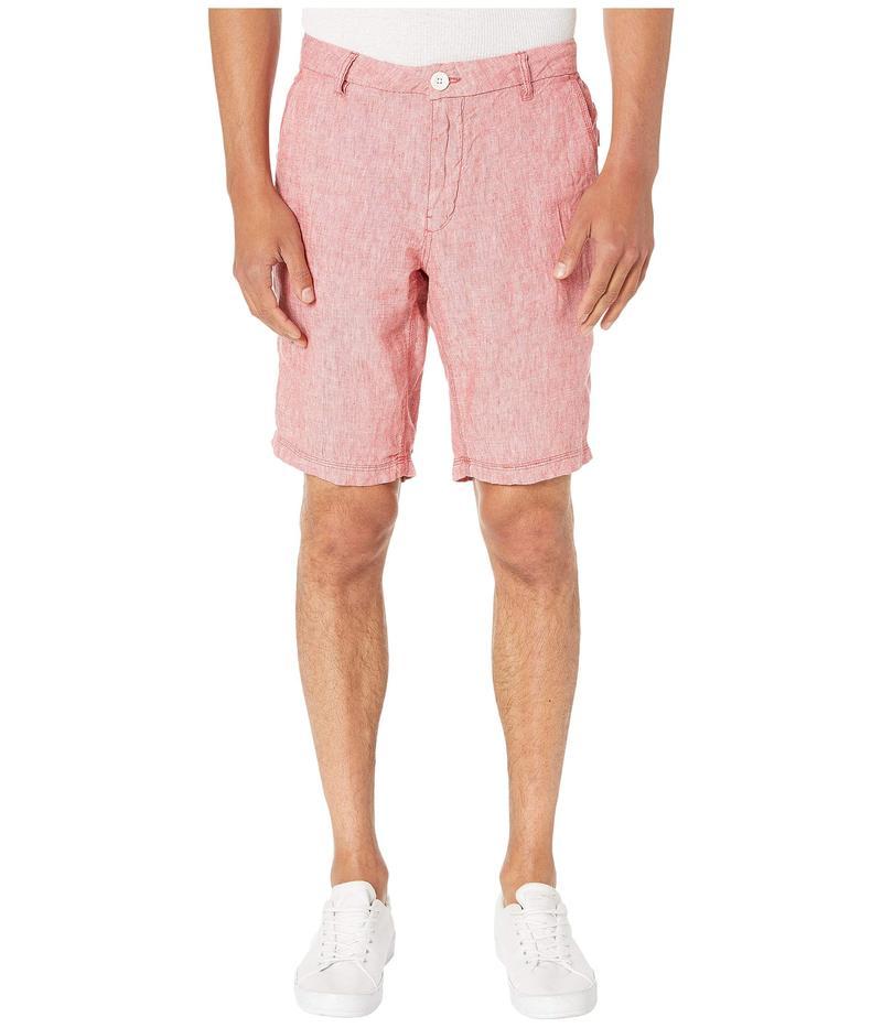 オニア メンズ ハーフパンツ・ショーツ ボトムス Austin Linen Shorts Vintage Red