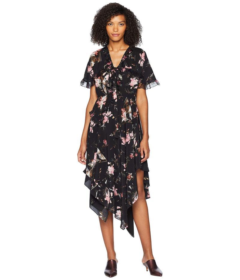 プリーン ソーントン ブルガッジ レディース ワンピース トップス Clara Dress Plastic Foxglove Black