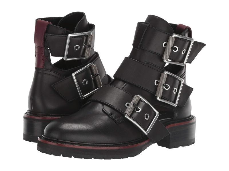 ラグアンドボーン レディース ブーツ・レインブーツ シューズ Cannon Buckle II Boot Black