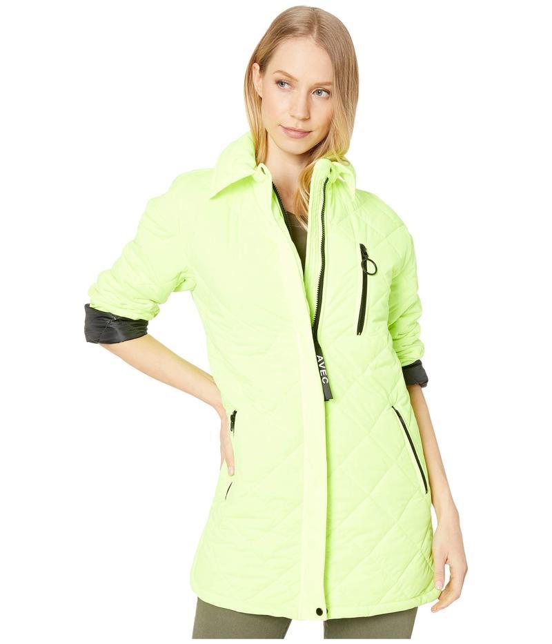 アヴェックレフィーユ レディース コート アウター Quilted Jacket Chartreuse