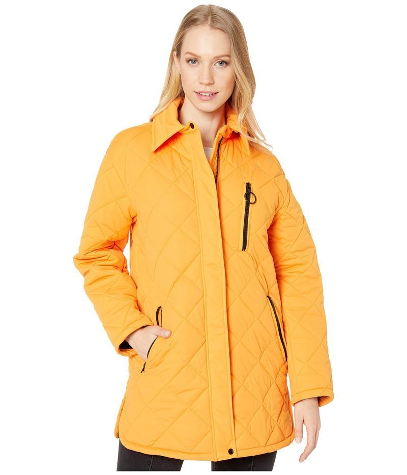 アヴェックレフィーユ レディース コート アウター Quilted Jacket Neon Orange